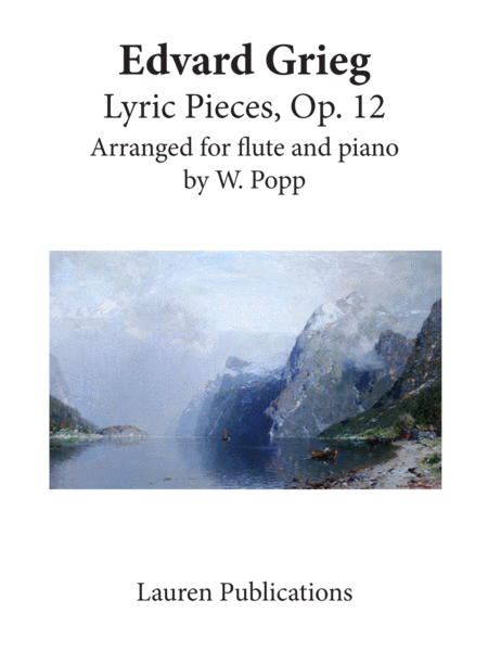 Lyric Pieces, Op. 12 (Flute and Piano)