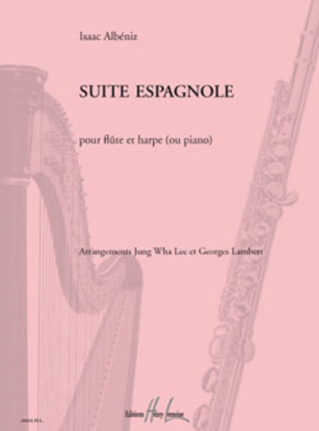 Suite espagnole (Flute and Piano/Harp)