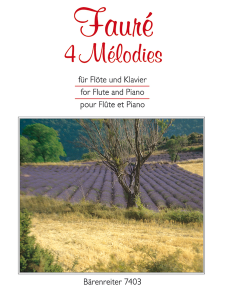 4 Melodies (Flute and Piano)
