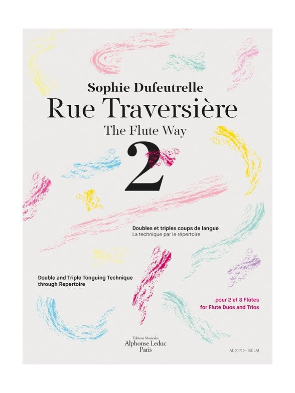 Rue Traversiere, The Flute Way Vol. 2 (Studies and Etudes)