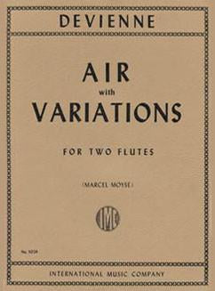 Air with Variations (Two Flutes)