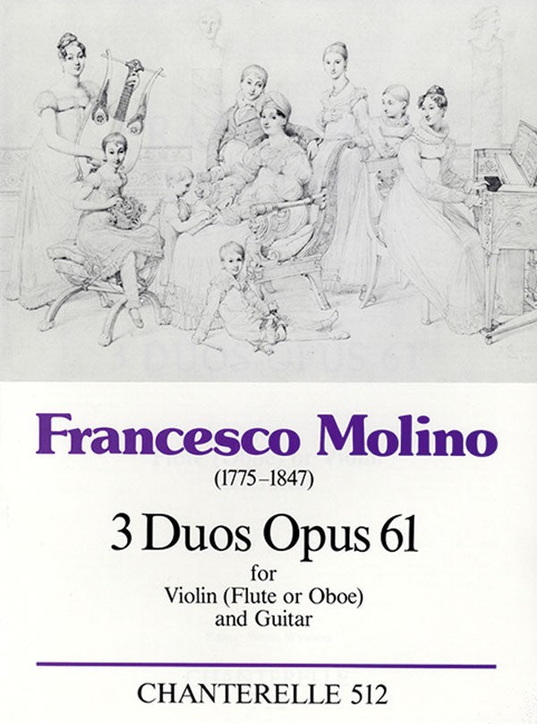 3 Duos op. 61 (Flute and Guitar)
