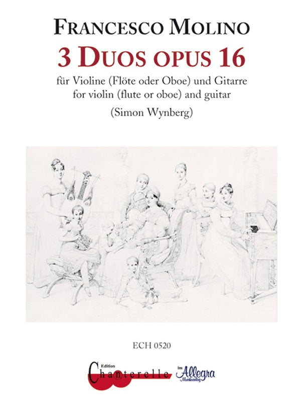 3 Duos op. 16 (Flute and Guitar)