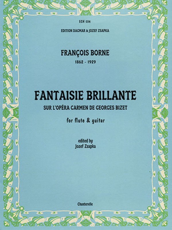 Fantaisie Brilliante on Themes from Bizet's Carmen (Flute and Guitar)