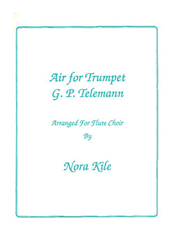 Air for Trumpet (Flute Choir)