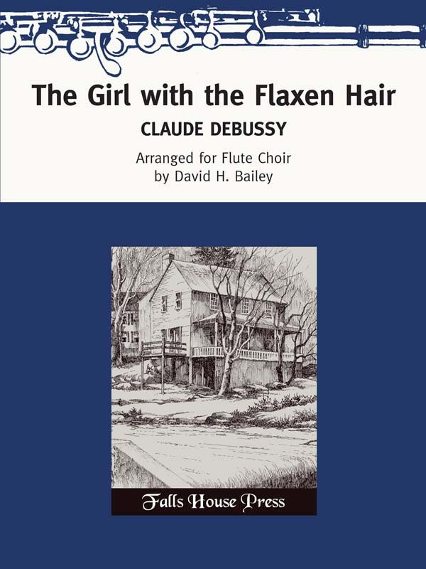 The Girl with the Flaxen Hair (La fille aux cheveux de lin) (Flute Choir)