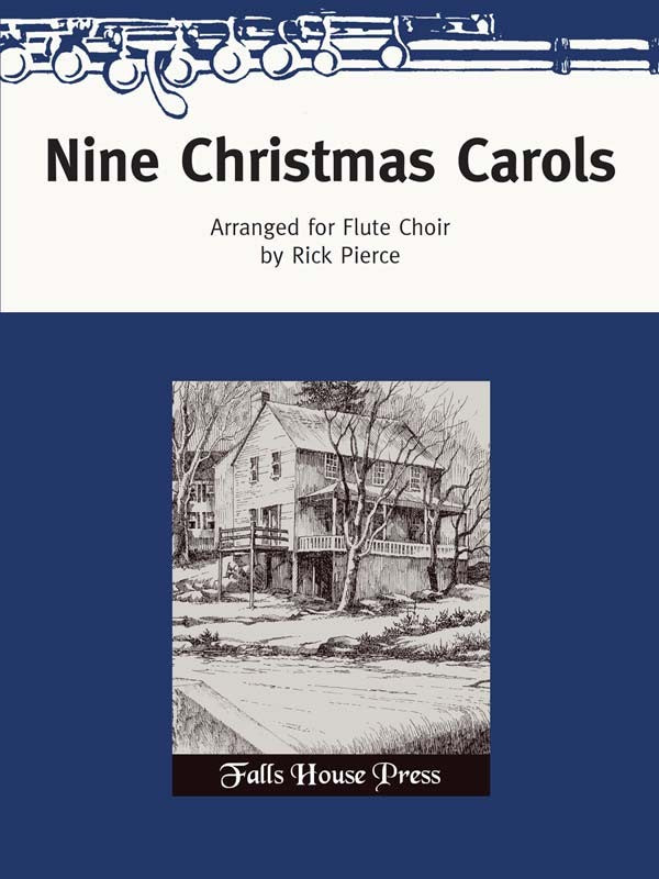 Nine Christmas Carols (Flute Choir)