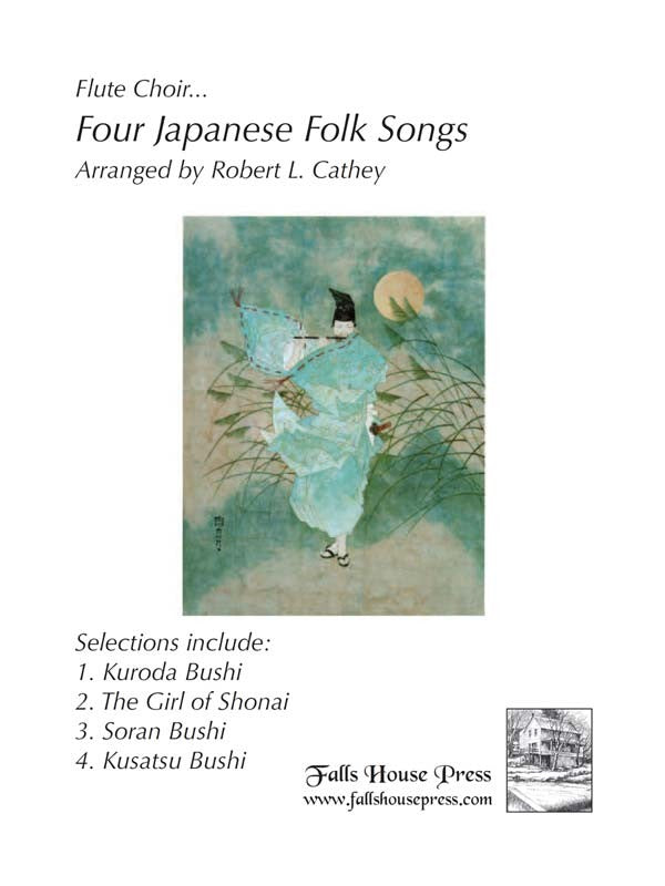 Four Japanese Folk Songs (Flute Choir)