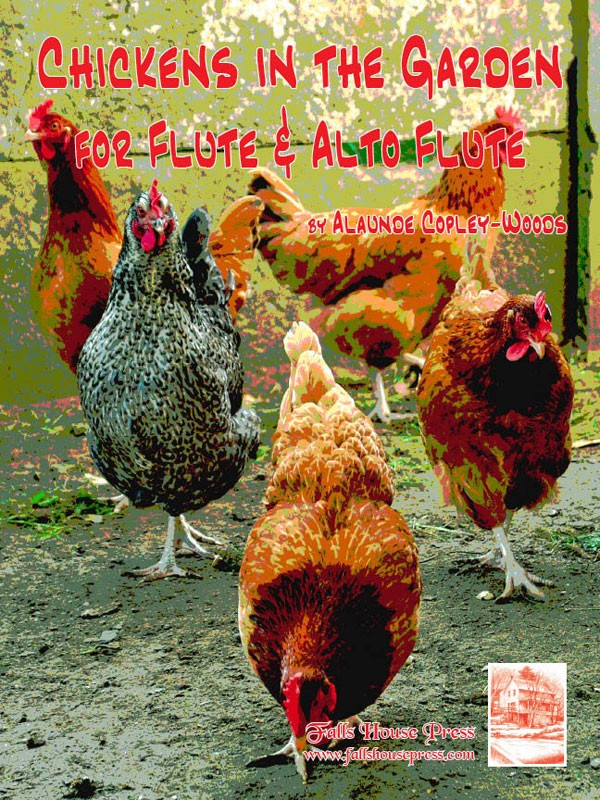 Chickens In the Garden (Flute and Alto Flute)