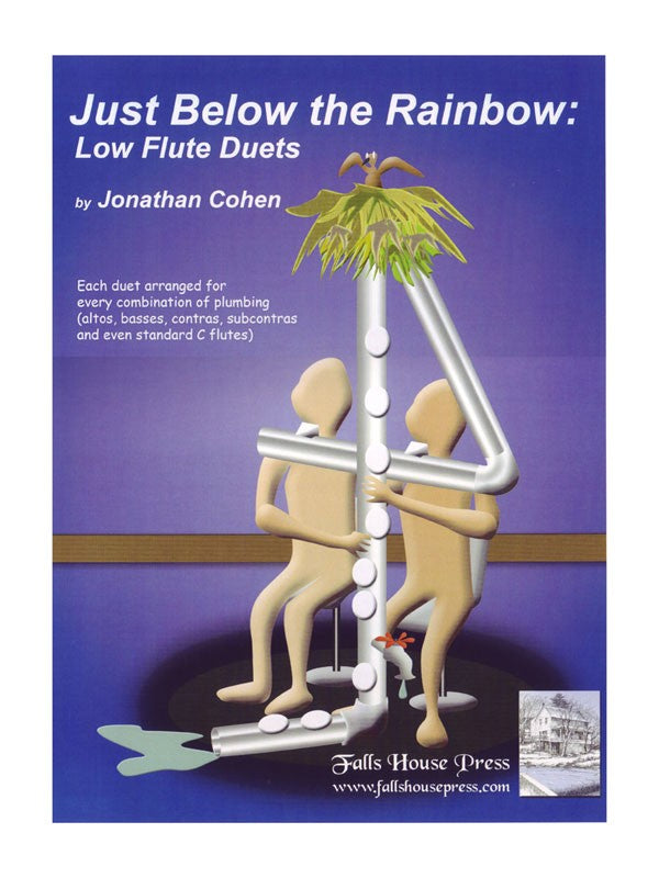 Just Below The Rainbow: Low Flute Duets