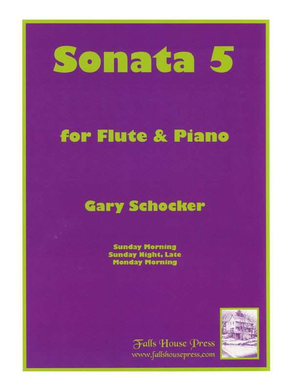Sonata No. 5 (Flute and Piano)