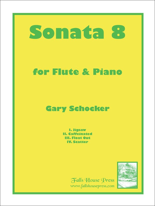 Sonata No. 8 (Flute and Piano)