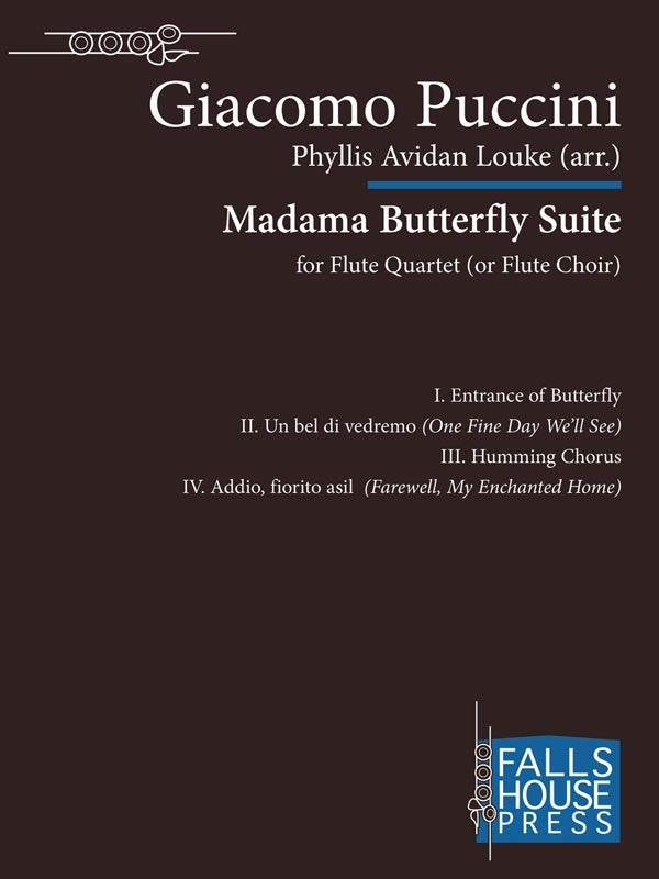Madama Butterfly Suite (Four Flutes)
