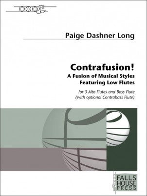 Contrafusion! (3 Alto Flutes, Bass Flute, and Contrabass (opt.))