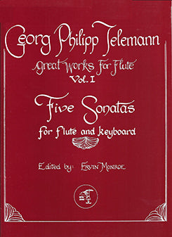 Five Sonatas, Vol. One (Flute and Piano)