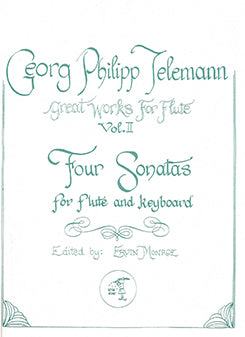 Four Sonatas, Vol. Two (Flute and Piano)