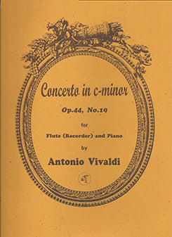 Concerto in C Minor, Op. 44, No. 19 (Flute and Piano)