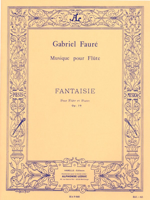 Fantaisie, op. 79 (Flute and Piano)