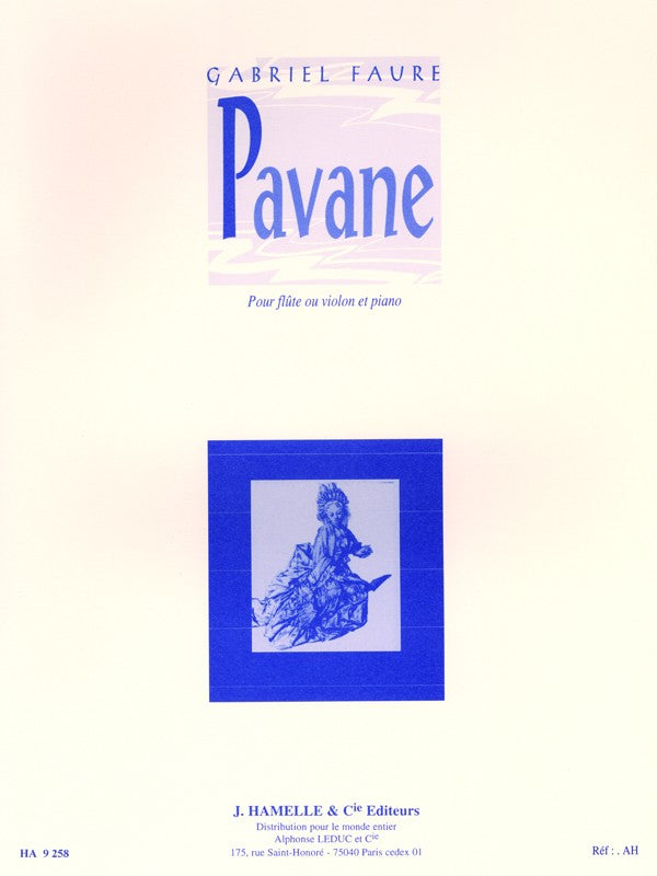 Pavane, Op. 50 (Flute and Piano)