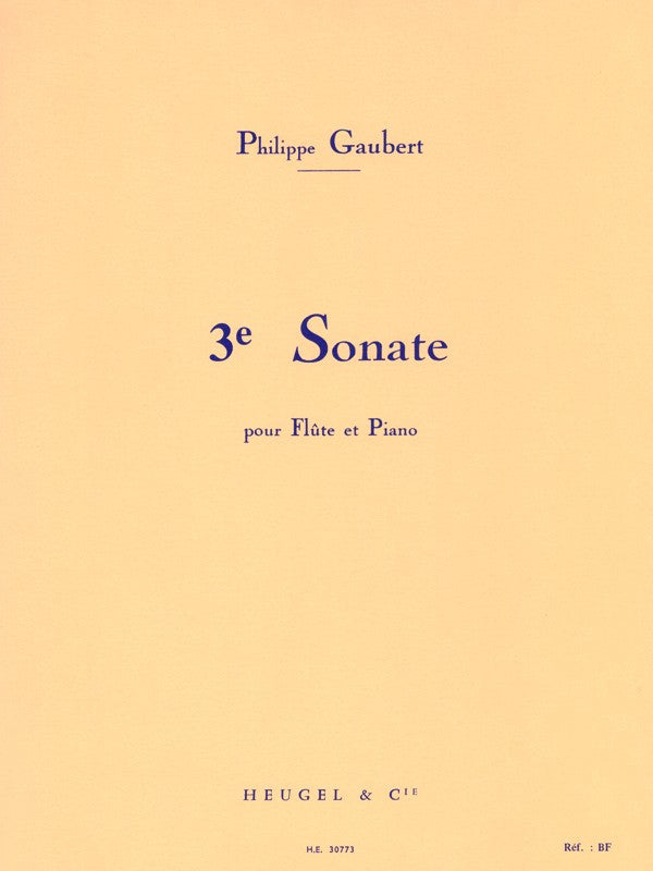 Third Sonata (Flute and Piano)