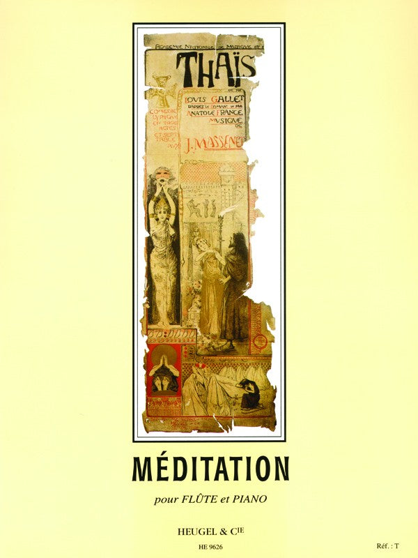 Meditation From The Opera 'Thais' (Flute and Piano)
