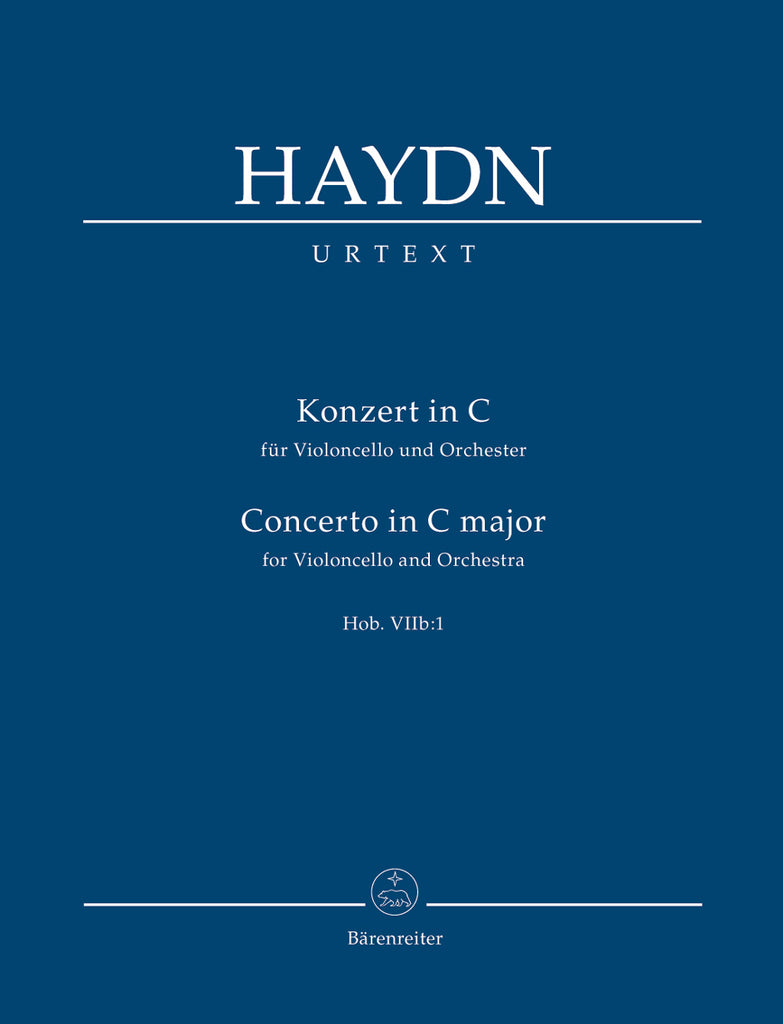 Concerto for Violoncello and Orchestra C major Hob.VIIb:1 (Orchestral Score)