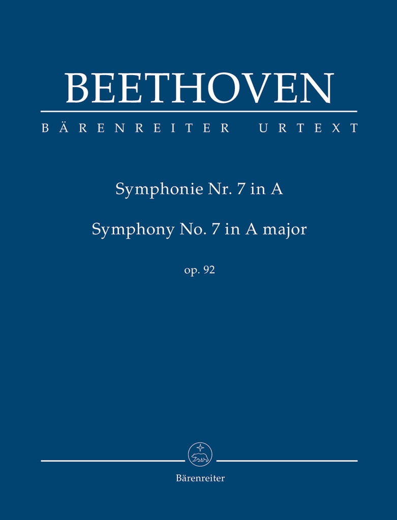 Symphony No. 7 in A major op. 92 (Orchestral Score)