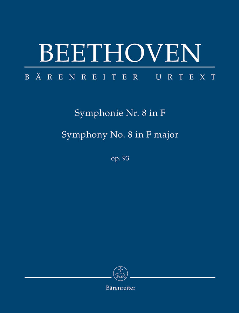 Symphony No. 8 in F major op. 93 (Orchestral Score)