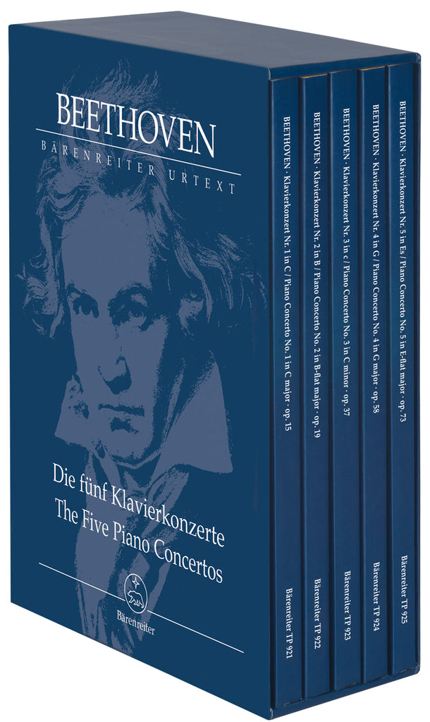 The Five Piano Concertos (Orchestral Score)