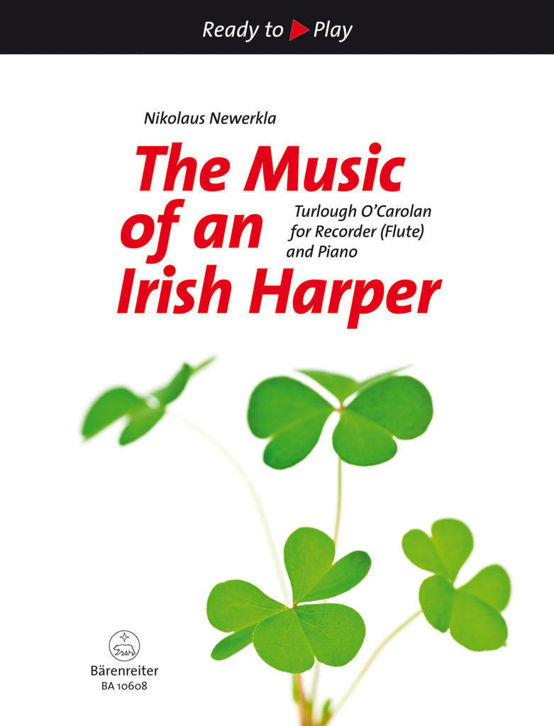 The Music of an Irish Harper (Flute and Piano)