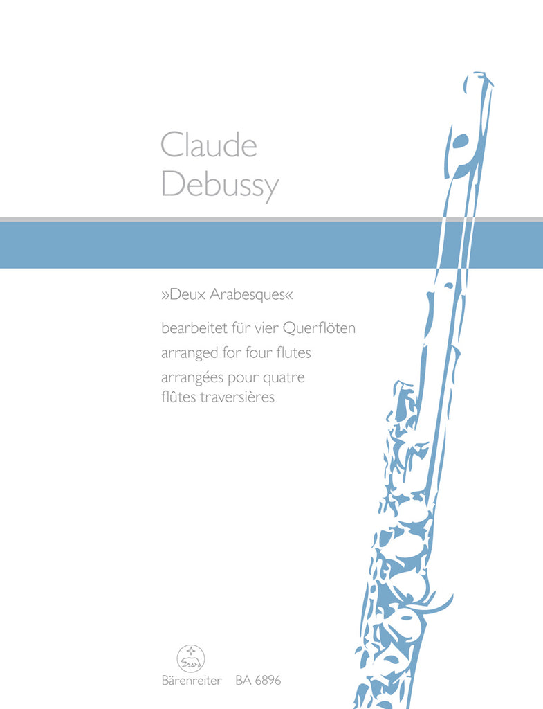 Deux Arabesques (Four Flutes)