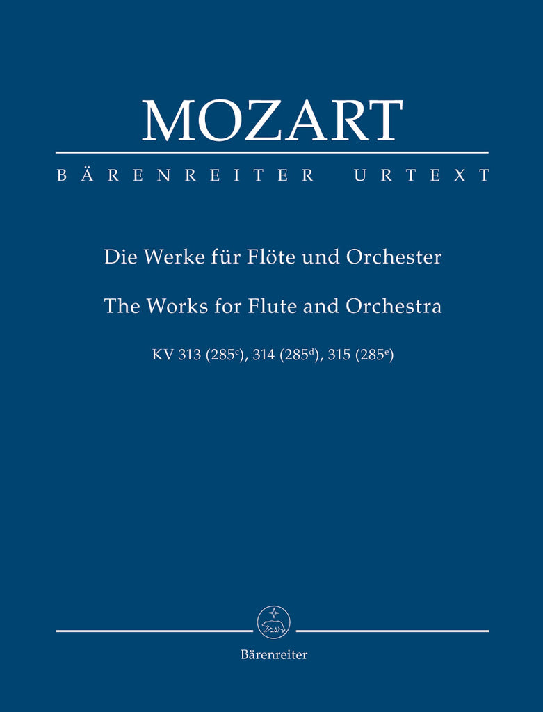 Works for Flute and Orchestra (Full Score)