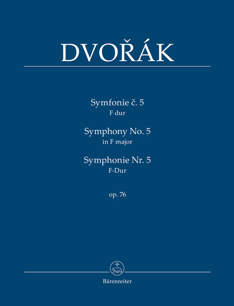 Symphony No. 5 in F major op. 76 (Orchestral Score)