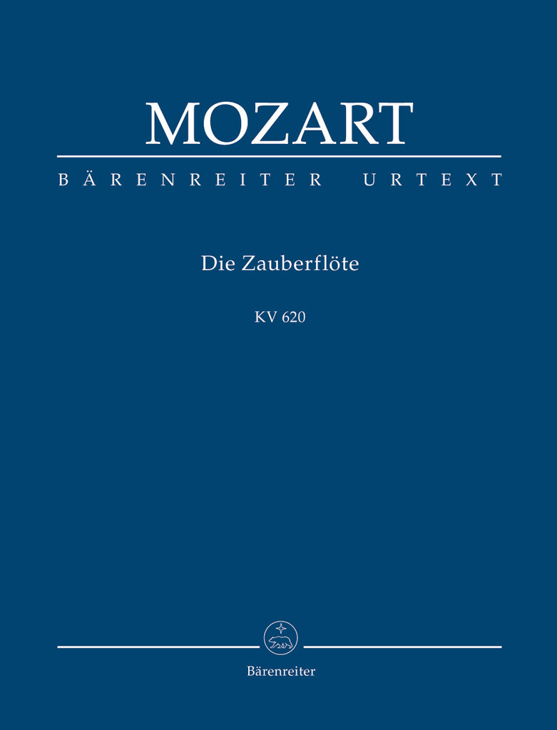 "Die Zauberflote ""The Magic Flute"" KV 620 (Orchestral Score)"