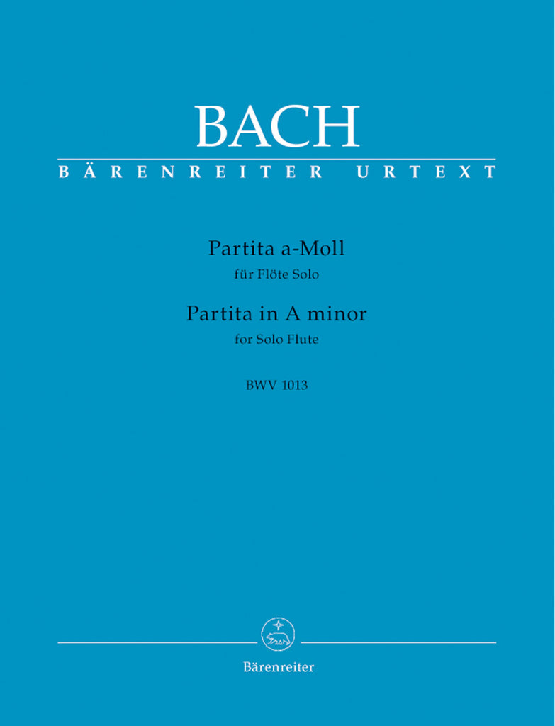 Partita in A minor, BWV 1013 (Flute Alone)