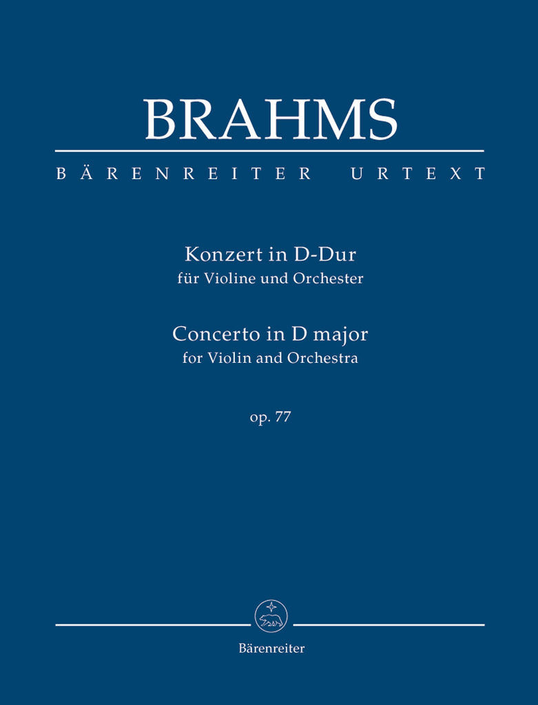 Concerto for Violin and Orchestra in D major op. 77 (Orchestral Score)