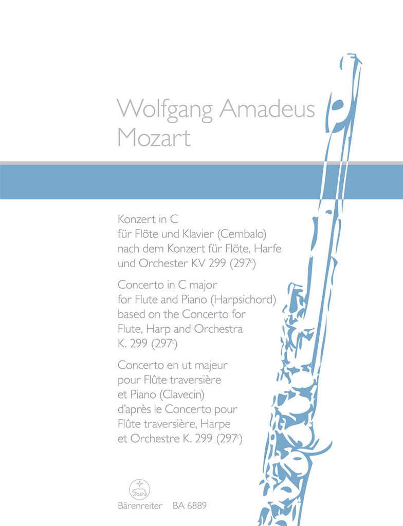 Concerto in C Major, K. 299 (Arr. from Flute and Harp Concerto) (Flute and Piano)