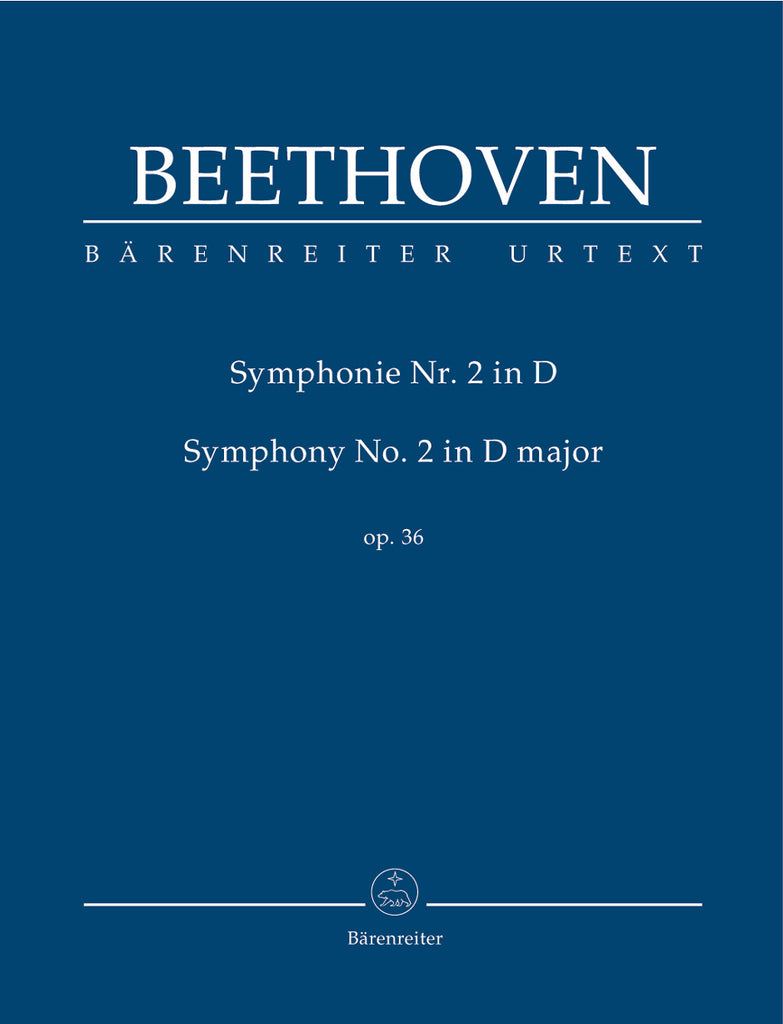 Symphony No. 2 in D major op. 36 (Orchestral Score)