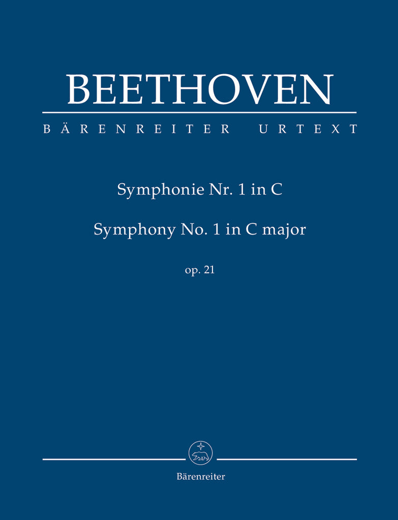 Symphony No. 1 in C major op. 21 (Orchestral Score)