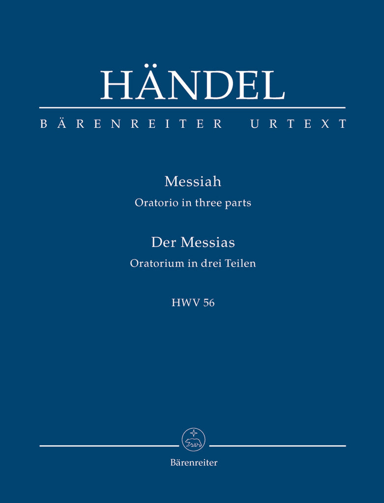 "Der Messias ""The Messiah"" HWV 56 (Orchestral Score)"