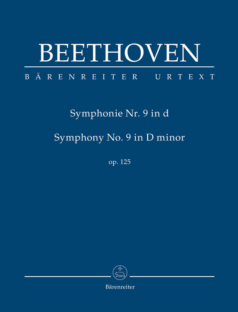 Symphony No. 9 in d minor op. 125 (Orchestral Score)