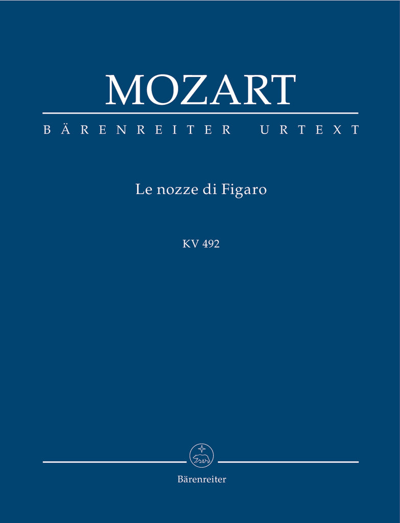 "Le mariage de Figaro ""The Marriage of Figaro"" KV 492 (Orchestral Score)"