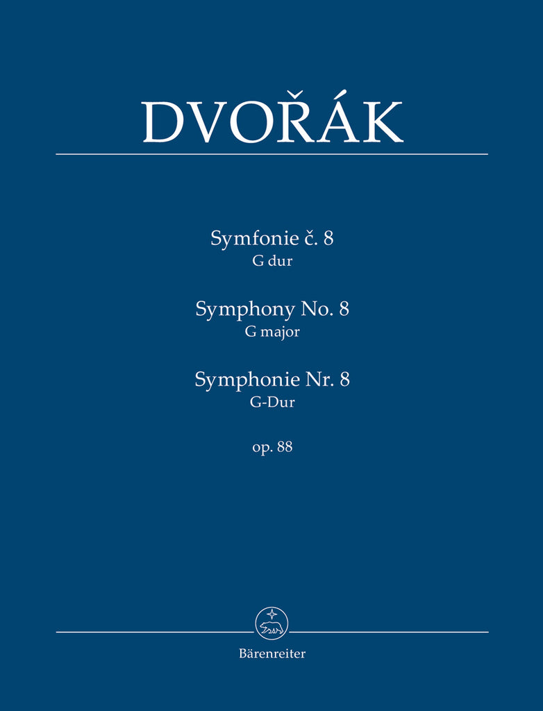 Symphony No. 8 in G major op. 88 (Orchestral Score)