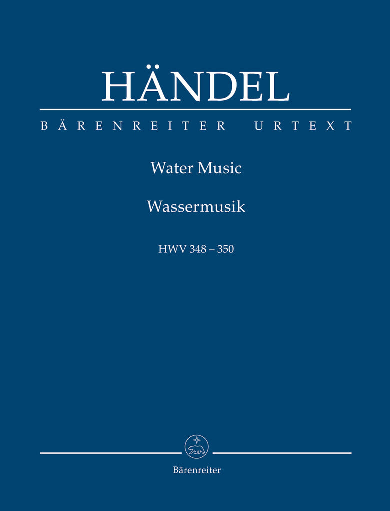 Water Music, HWV 348-350 (Orchestral Score)