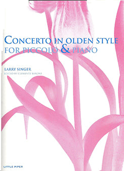 Concerto in Olden Style (Piccolo and Piano)
