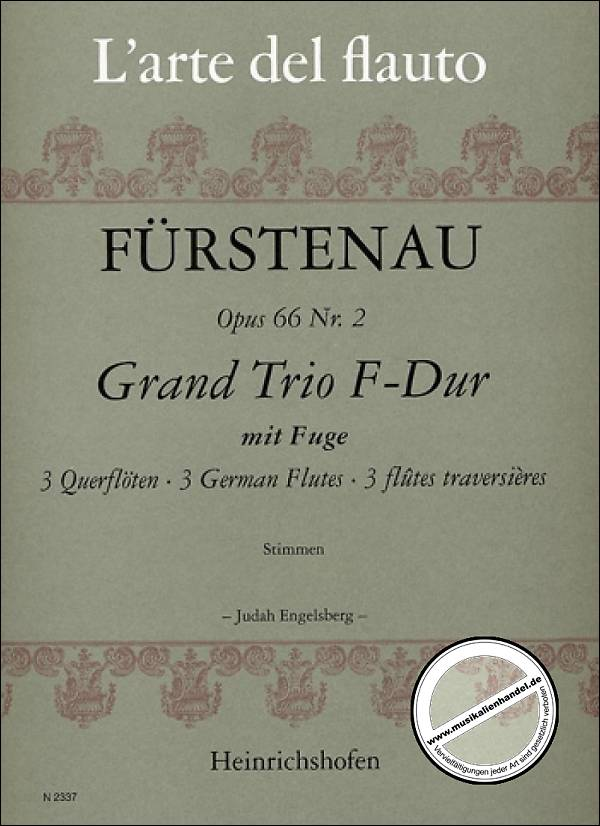 Grand Trio in F Major Op. 66 No. 2 (Three Flutes)