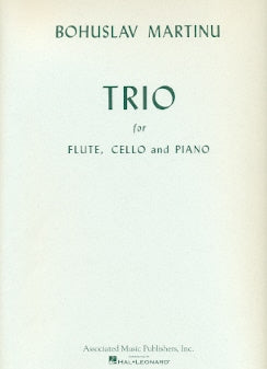 Trio in C Major for Flute, Cello and Piano (Set of Parts)