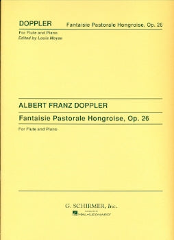 Fantaisie Pastorale Hongroise, Op. 26 (Flute and Piano)