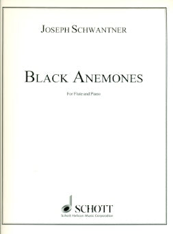 Black Anemones (Flute and Piano)