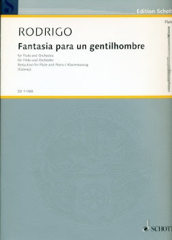 Fantasia para un Gentilhombre (1954) (Flute and Piano)